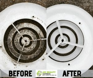 Air duct cleaning maintenance
