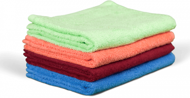 Neatly Folded Towels - Air Quality Express dryer duct cleaning in conroe texas