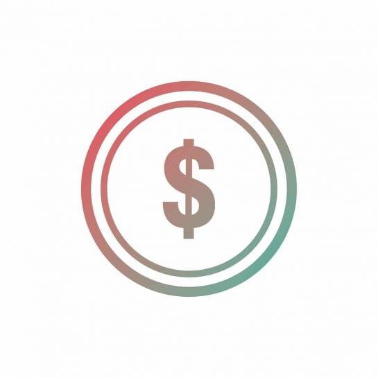 coin, icon, money