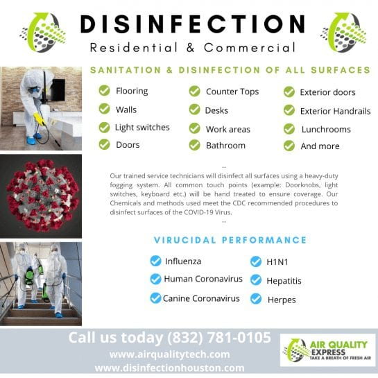 disinfection process