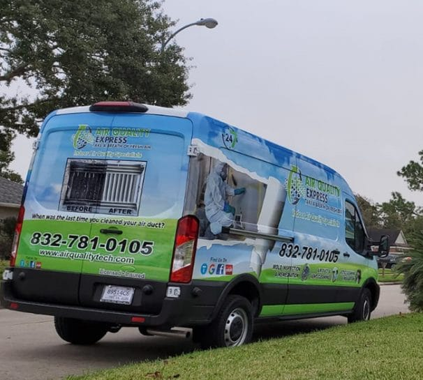 air duct cleaning in Houston