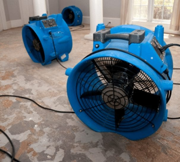 water damage restoration company in Houston