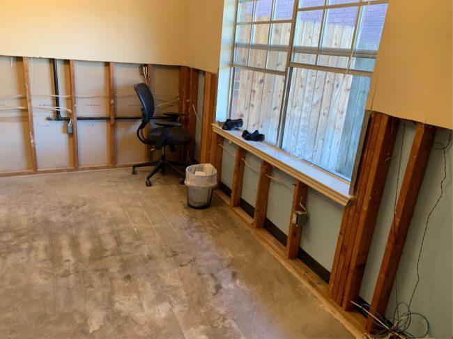 water damage restoration company in Houston