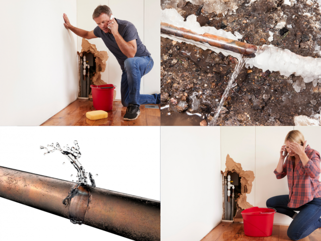 water damage removal and restoration services in Houston